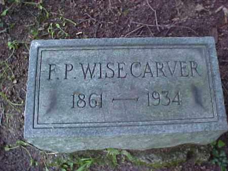 WISECARVER, FRANCIS P. - Meigs County, Ohio | FRANCIS P. WISECARVER - Ohio Gravestone Photos