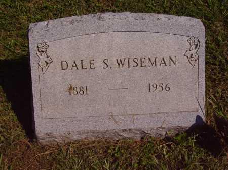 WISEMAN, DALE SHAW - Meigs County, Ohio | DALE SHAW WISEMAN - Ohio Gravestone Photos