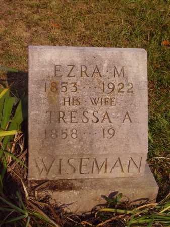 VONSCHRILTZ WISEMAN, TRESSA A. - Meigs County, Ohio   TRESSA A. VONSCHRILTZ WISEMAN - Ohio Gravestone Photos