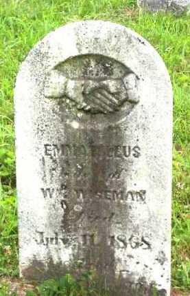 BRALEY WISEMAN, EMMA - Meigs County, Ohio | EMMA BRALEY WISEMAN - Ohio Gravestone Photos