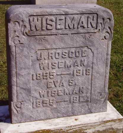 SHAW WISEMAN, EVA S. - Meigs County, Ohio | EVA S. SHAW WISEMAN - Ohio Gravestone Photos