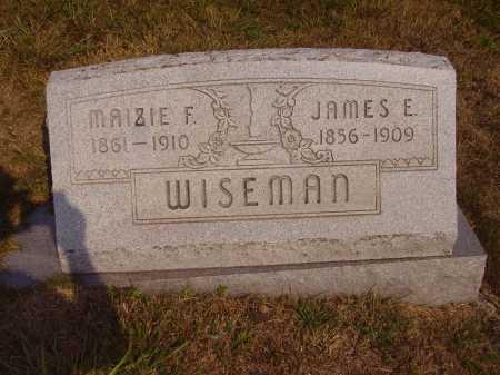 WISEMAN, MAIZIE F. - Meigs County, Ohio | MAIZIE F. WISEMAN - Ohio Gravestone Photos