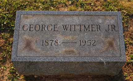 WITTMER, GEORGE JR - Meigs County, Ohio   GEORGE JR WITTMER - Ohio Gravestone Photos