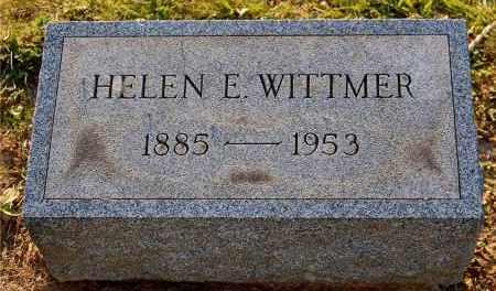 WITTMER, HELEN E - Meigs County, Ohio   HELEN E WITTMER - Ohio Gravestone Photos