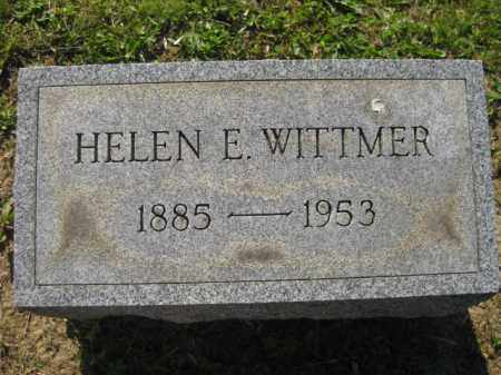 WITTMER, HELEN E - Meigs County, Ohio | HELEN E WITTMER - Ohio Gravestone Photos