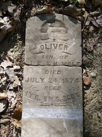WOLF, OLIVER - Meigs County, Ohio   OLIVER WOLF - Ohio Gravestone Photos