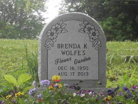 WOLFE, BRENDA - Meigs County, Ohio   BRENDA WOLFE - Ohio Gravestone Photos