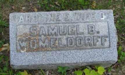 WOMELDORFF, CAROLINE E - Meigs County, Ohio | CAROLINE E WOMELDORFF - Ohio Gravestone Photos
