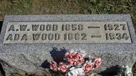 CECIL WOOD, ADA - Meigs County, Ohio | ADA CECIL WOOD - Ohio Gravestone Photos