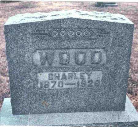 WOOD, CHARLEY - Meigs County, Ohio | CHARLEY WOOD - Ohio Gravestone Photos