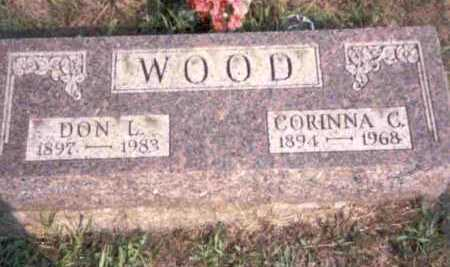WOOD, CORINNA C. - Meigs County, Ohio | CORINNA C. WOOD - Ohio Gravestone Photos
