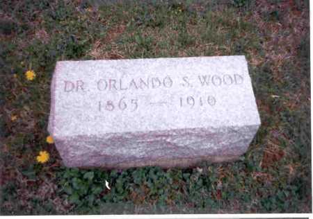 WOOD, DR. ORLANDO S. - Meigs County, Ohio   DR. ORLANDO S. WOOD - Ohio Gravestone Photos
