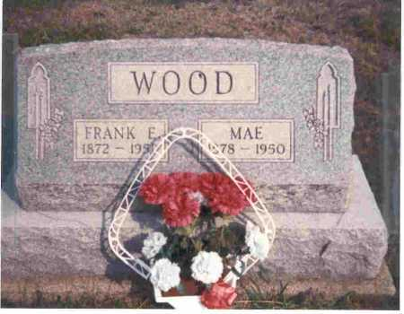 WOOD, MAE - Meigs County, Ohio | MAE WOOD - Ohio Gravestone Photos