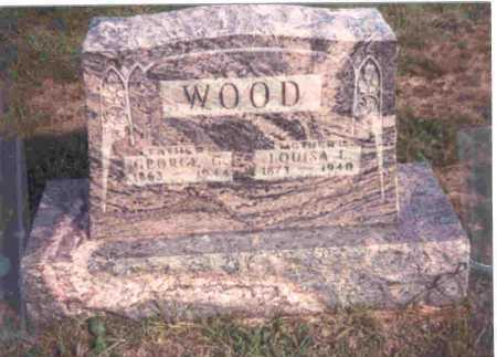 WOOD, LOUISA - Meigs County, Ohio | LOUISA WOOD - Ohio Gravestone Photos
