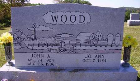 WOOD, JO ANN - Meigs County, Ohio | JO ANN WOOD - Ohio Gravestone Photos