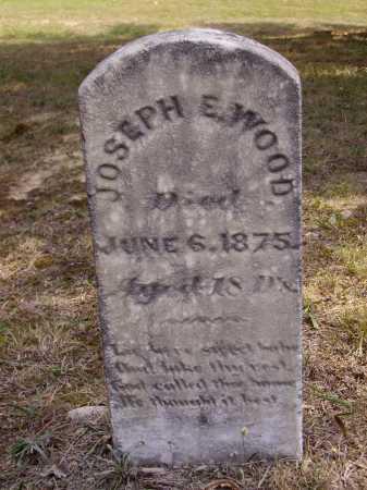 WOOD, JOSEPH E. - Meigs County, Ohio   JOSEPH E. WOOD - Ohio Gravestone Photos