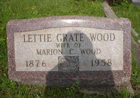 WOOD, LETTIE - Meigs County, Ohio | LETTIE WOOD - Ohio Gravestone Photos