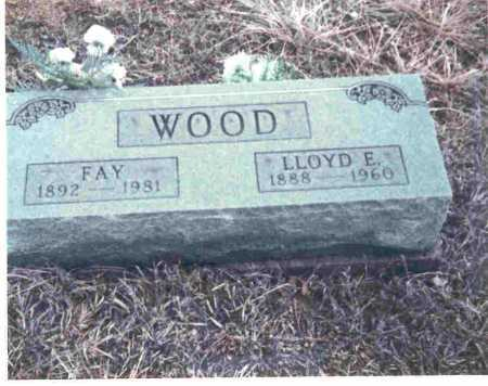 WOOD, FAY - Meigs County, Ohio | FAY WOOD - Ohio Gravestone Photos