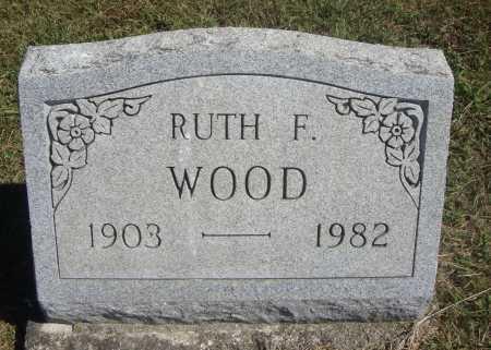 HARVEY WOOD, RUTH F. - Meigs County, Ohio | RUTH F. HARVEY WOOD - Ohio Gravestone Photos