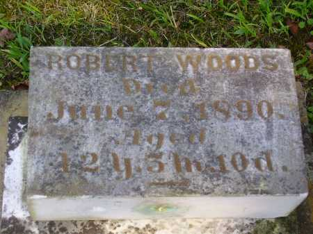 WOODS, ROBERT - Meigs County, Ohio | ROBERT WOODS - Ohio Gravestone Photos