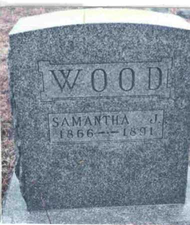 WOOD, SAMANTHA J. - Meigs County, Ohio   SAMANTHA J. WOOD - Ohio Gravestone Photos