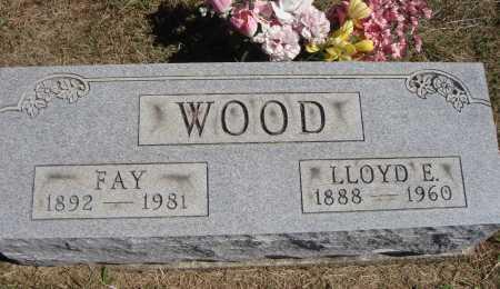 WOOD, LLOYD E. - Meigs County, Ohio | LLOYD E. WOOD - Ohio Gravestone Photos