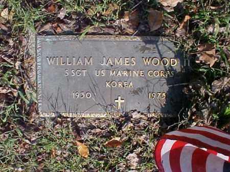 WOOD, WILLIAM JAMES - Meigs County, Ohio | WILLIAM JAMES WOOD - Ohio Gravestone Photos