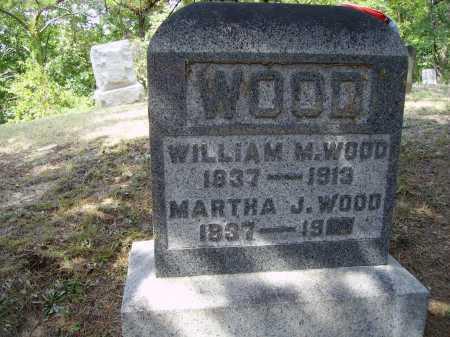 VANPELT WOOD, MARTHA J. - Meigs County, Ohio | MARTHA J. VANPELT WOOD - Ohio Gravestone Photos
