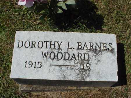 WOODARD, DOROTHY L. BARNES - Meigs County, Ohio | DOROTHY L. BARNES WOODARD - Ohio Gravestone Photos