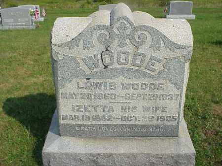 NELSON WOODE, IZETTA - Meigs County, Ohio   IZETTA NELSON WOODE - Ohio Gravestone Photos