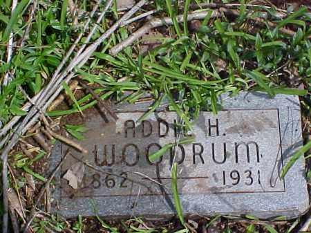 WOODRUM, ADDIE H. - Meigs County, Ohio   ADDIE H. WOODRUM - Ohio Gravestone Photos