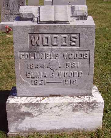 WOODS, COLUMBUS - Meigs County, Ohio | COLUMBUS WOODS - Ohio Gravestone Photos