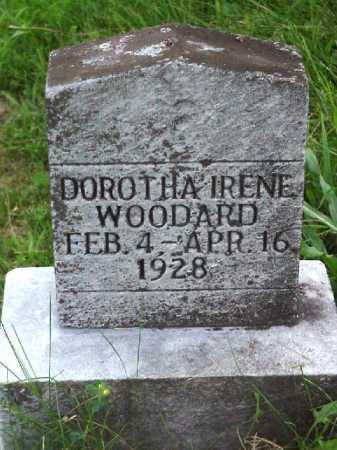 WOODWARD, DOROTHA IRENE - Meigs County, Ohio | DOROTHA IRENE WOODWARD - Ohio Gravestone Photos