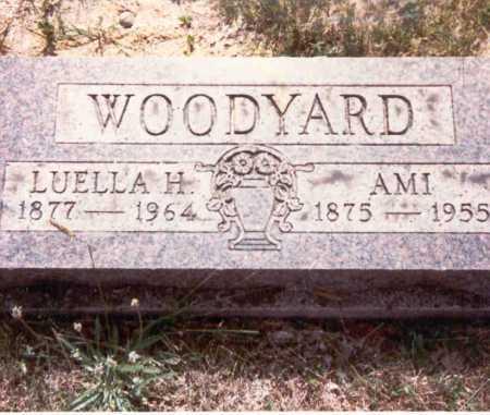 HANING WOODYARD, LEULLA H. - Meigs County, Ohio | LEULLA H. HANING WOODYARD - Ohio Gravestone Photos