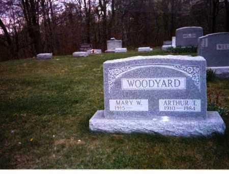 WELSH WOODYARD, MARY W. - Meigs County, Ohio | MARY W. WELSH WOODYARD - Ohio Gravestone Photos