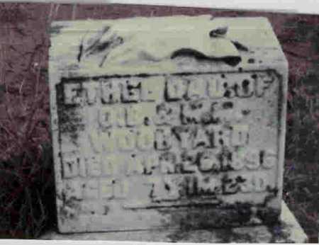 WOODYARD, ETHEL - Meigs County, Ohio | ETHEL WOODYARD - Ohio Gravestone Photos