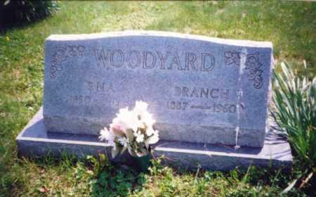 GRAHAM WOODYARD, ENA - Meigs County, Ohio | ENA GRAHAM WOODYARD - Ohio Gravestone Photos