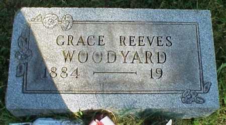 REEVES WOODYARD, GRACE - Meigs County, Ohio   GRACE REEVES WOODYARD - Ohio Gravestone Photos
