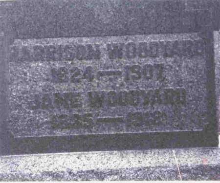WOODYARD, JANE - Meigs County, Ohio | JANE WOODYARD - Ohio Gravestone Photos