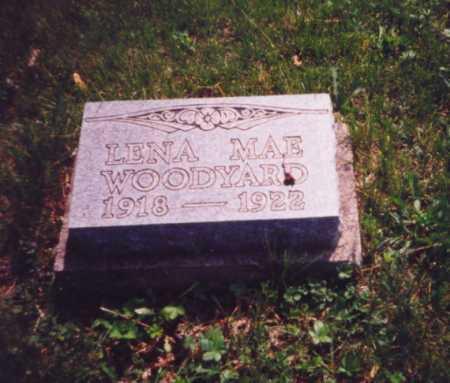 WOODYARD, LENA MAE - Meigs County, Ohio | LENA MAE WOODYARD - Ohio Gravestone Photos