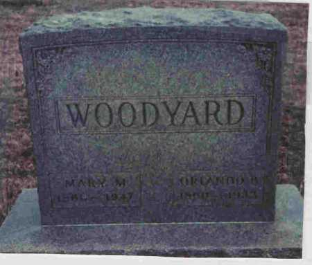 WOODYARD, MARY - Meigs County, Ohio | MARY WOODYARD - Ohio Gravestone Photos