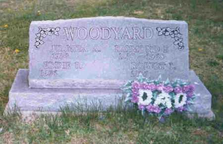 WOODYARD, EDDIE R. - Meigs County, Ohio | EDDIE R. WOODYARD - Ohio Gravestone Photos
