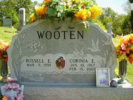 WOOTEN, RUSSELL E. - Meigs County, Ohio | RUSSELL E. WOOTEN - Ohio Gravestone Photos