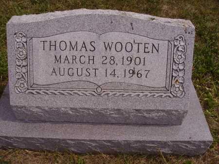 WOOTEN, THOMAS - Meigs County, Ohio   THOMAS WOOTEN - Ohio Gravestone Photos