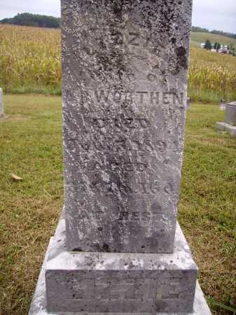 MORRIS WORTHON, LIZZIE - Meigs County, Ohio | LIZZIE MORRIS WORTHON - Ohio Gravestone Photos