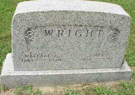 WRIGHT, CORA L. - Meigs County, Ohio   CORA L. WRIGHT - Ohio Gravestone Photos