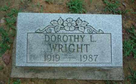 WRIGHT, DOROTHY L. - Meigs County, Ohio | DOROTHY L. WRIGHT - Ohio Gravestone Photos