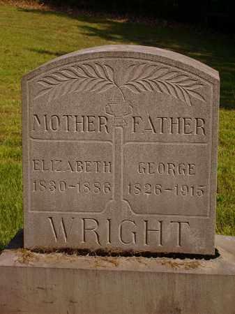GRAHAM WRIGHT, ELIZABETH - Meigs County, Ohio | ELIZABETH GRAHAM WRIGHT - Ohio Gravestone Photos