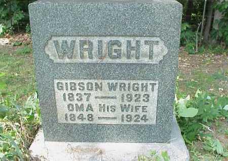 WRIGHT, GIBSON - Meigs County, Ohio | GIBSON WRIGHT - Ohio Gravestone Photos