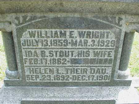 WRIGHT, HELEN L. - Meigs County, Ohio | HELEN L. WRIGHT - Ohio Gravestone Photos